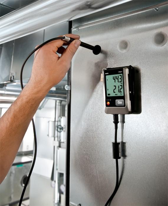 Логгер данных влажности и температуры testo 176 H1