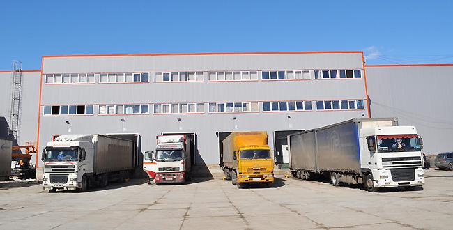 склад готовой продукции компании по производству пластмасс в г. Вязьма.