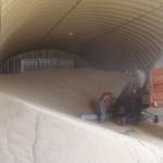 зернохранилище утепленное пенополиуретаном изнутри