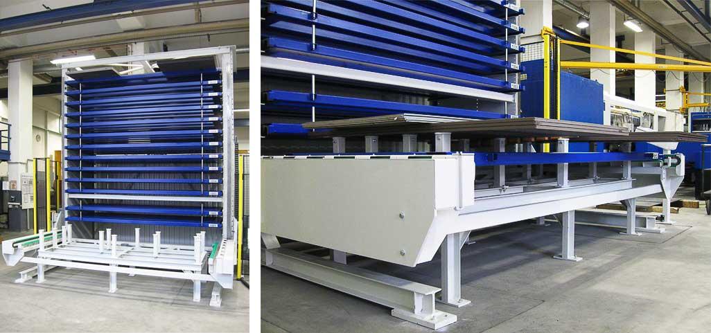 Автоматизированные системы для хранения длинномерного металла Towermat