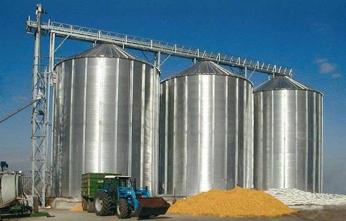 элеваторное хранение зерна