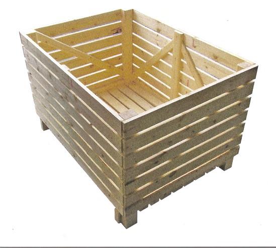Контейнеры для хранения овощей на складе