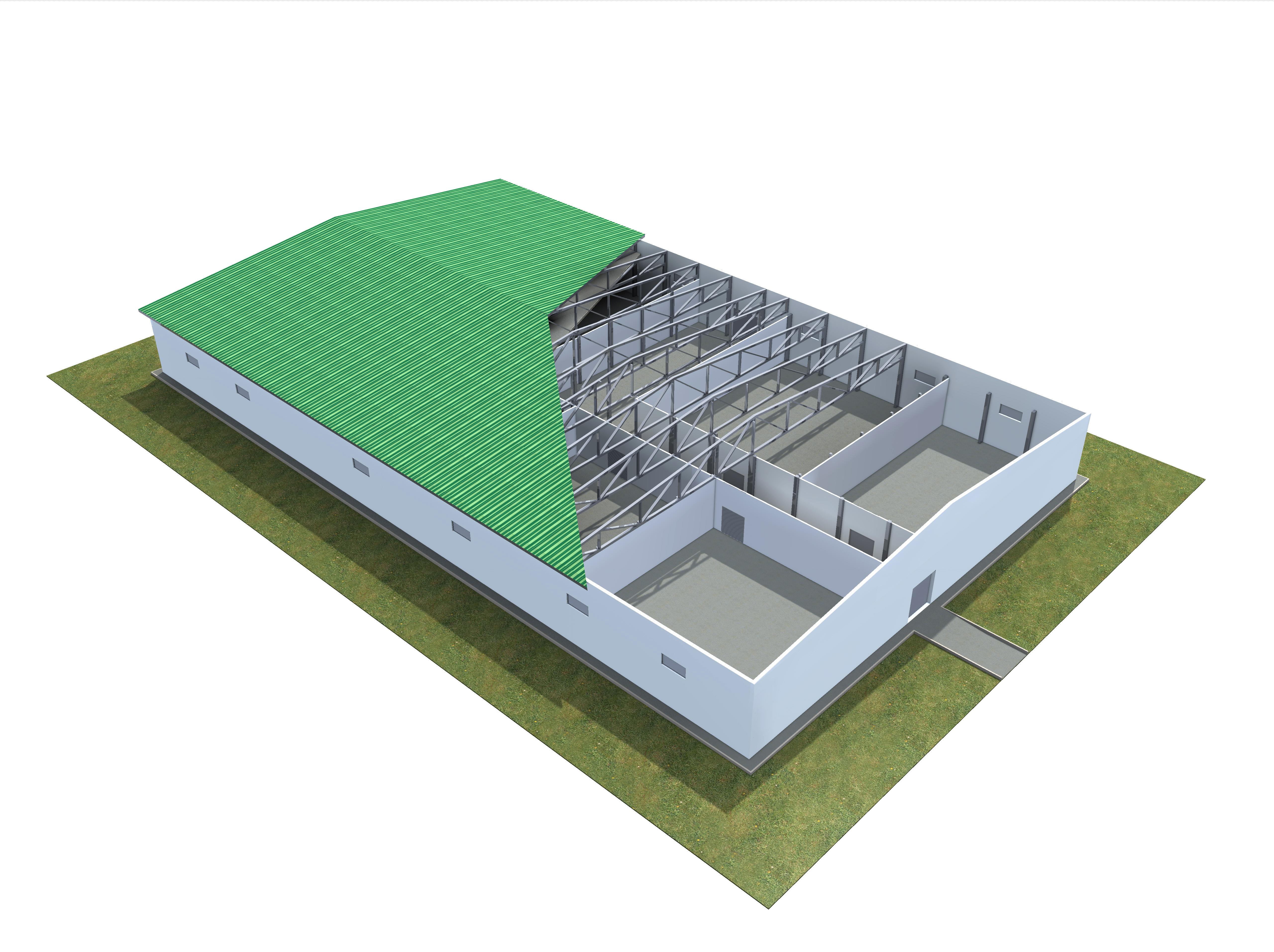 схема холодильной установки склада