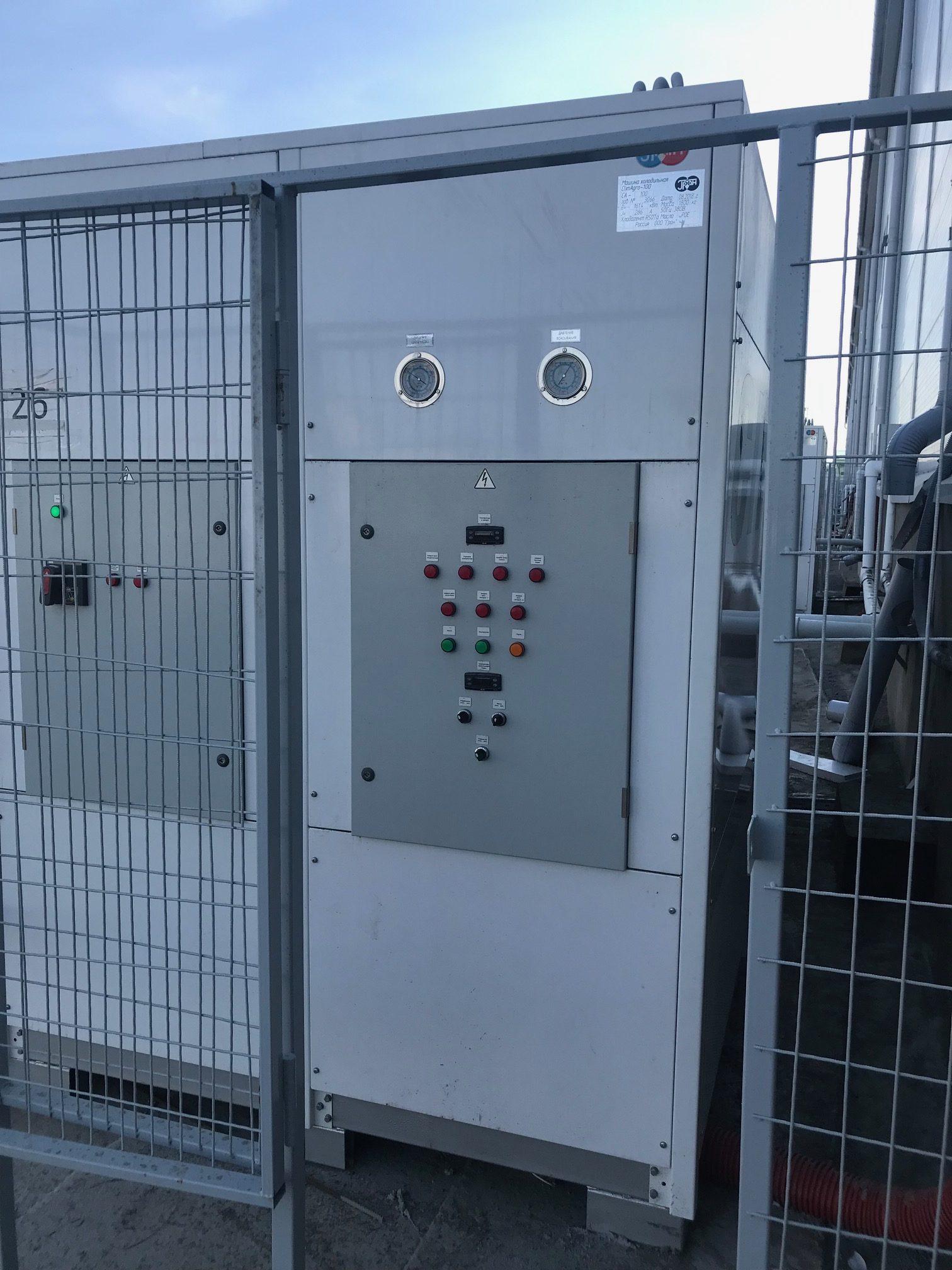 Холодильная гликолевая установка ClimAgro 100